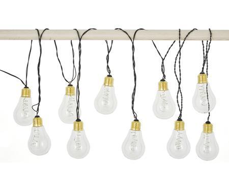 Ghirlanda  a LED Bulb, 360 cm, 10 lampioni