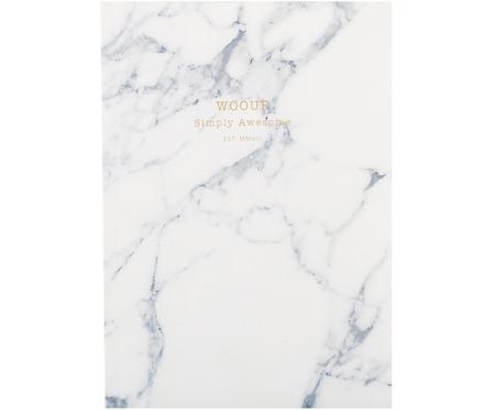 Taccuino White Marble