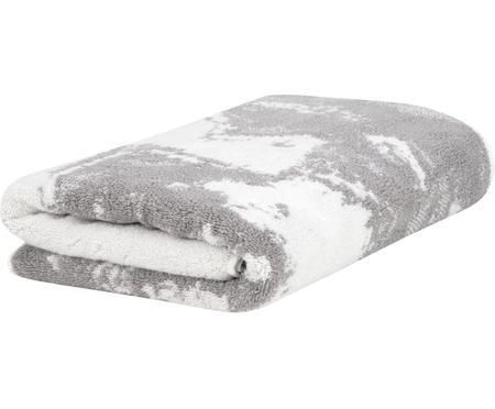 Asciugamano con motivo effetto marmo Malin
