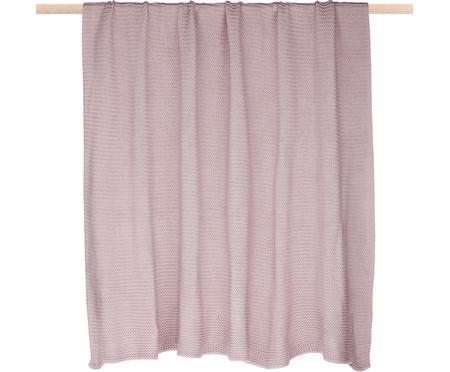 Plaid fatto a maglia rosa cipria Adalyn