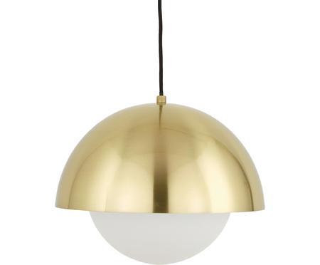 Lampada a sospensione con vetro opale Lucille