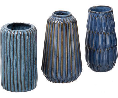 Set 3 vasi in porcellana Aquarel