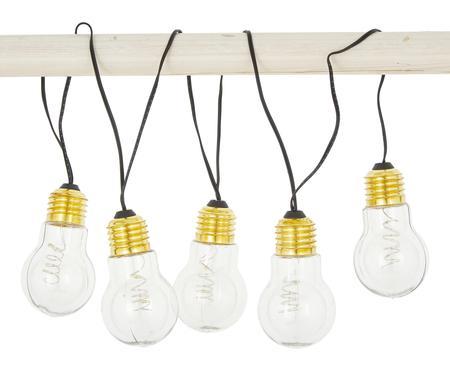 Ghirlanda a LED Bulb, 100 cm