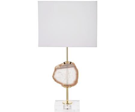 Lampada da tavolo con decorazione in agata Treasure