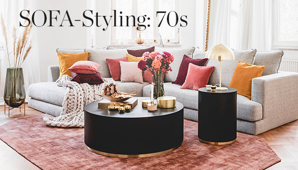 Sofa-Styling: 70s