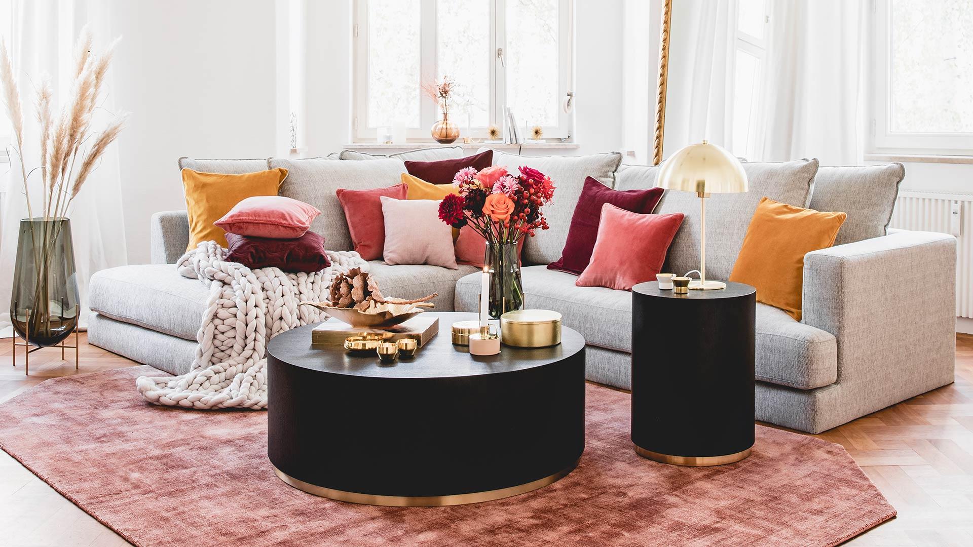 Sofa-Styling: 70s
