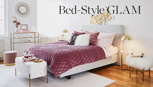 Bed-Style Glam