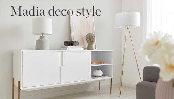 Madia deco style