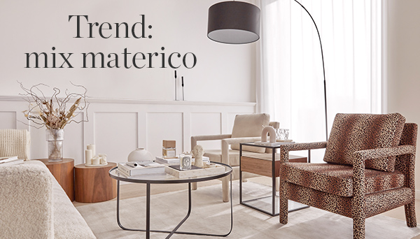 Trend: mix materico