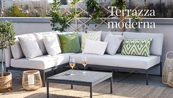 Terrazza moderna